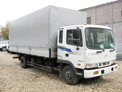 Бортовой автомобиль Hyundai HD 120 с тентом 7 тонн
