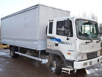 Бортовой автомобиль с тентом Hyundai HD 120 7 тонн