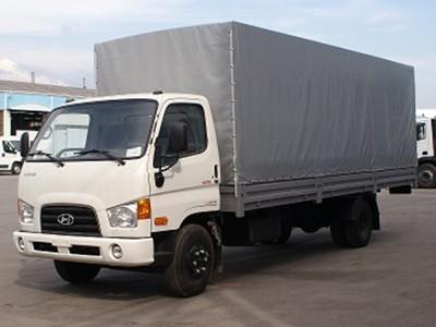 Бортовой автомобиль Hyundai HD 65 с тентом 3,6 тонны