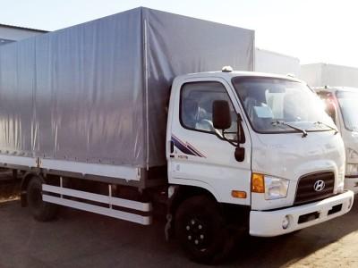 Бортовой автомобиль Hyundai HD 78 с тентом 4,7 тонны