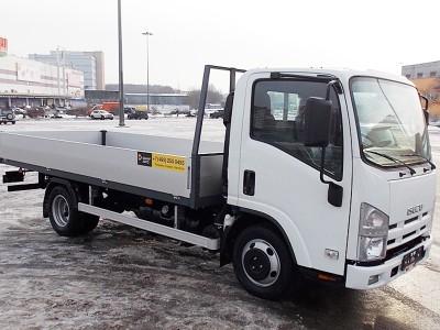 Бортовой автомобиль Isuzu ELF 3.5 NLR85A 1,4 тонны