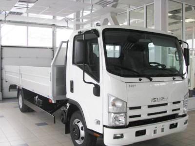 Бортовой автомобиль Isuzu ELF 7.5 NPR75LH 4,6 тонны
