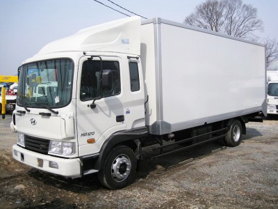 Промтоварный фургон Hyundai HD 120 6,5 метров