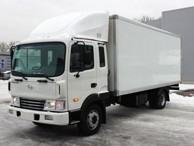 Промтоварный фургон Hyundai HD 120 6 тонн