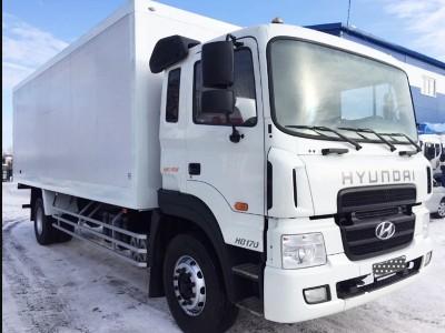 Промтоварный фургон Hyundai HD 170 8 тонн