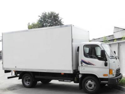 Промтоварный фургон Hyundai HD 65 3 тонны