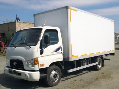 Изотермический фургон Hyundai HD 78 6,2 метра
