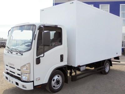 Промтоварный фургон Isuzu ELF 3.5 NMR85E 3,3 м