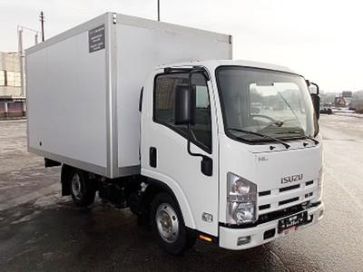 Промтоварный фургон Isuzu ELF 3.5 NLR85A 3,4 м