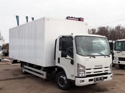 Изотермический фургон Isuzu ELF 9.5 NQR90LH 6,5 тонн