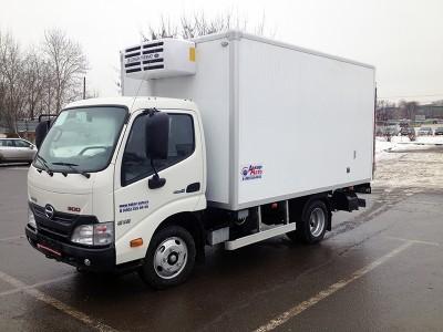 Рефрижератор Hino 300-650 STD 3,3 тонны
