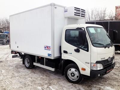 Рефрижератор Hino 300-640 STD 1,3 тонны c ХОУ Dongin Thermo