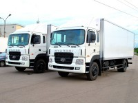 Изотермические фургоны Hyundai HD-170