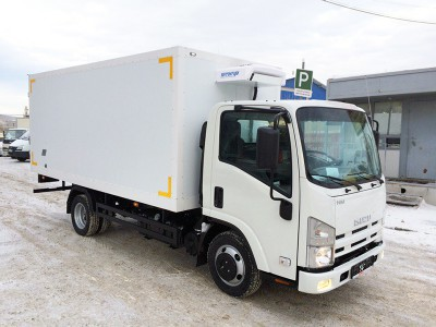 Рефрижератор Isuzu ELF 3.5 NMR85E 3,3 м