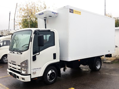 Рефрижератор Isuzu ELF 3.5 NMR85H 3,9 м