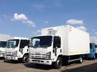 Фургоны-рефрижераторы Isuzu ELF 7.5