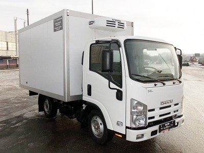 Рефрижератор Isuzu ELF 3.5 NMR85H 4,3 м